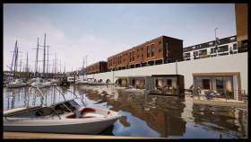 Four Floatel Cabins will be constructed within the marina at Milford Haven, Pembrokeshire later this year