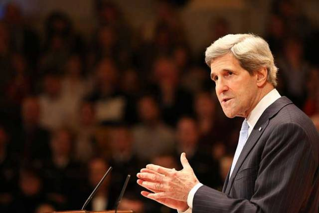 John Kerry will deliver the keynote address in Cork