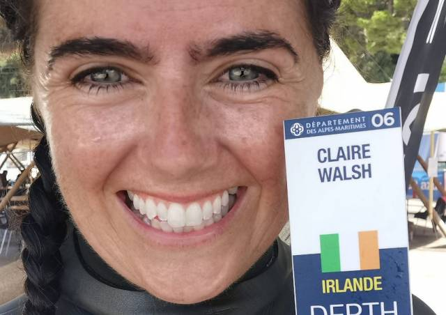 Second National Record For Irish Free Diver In World Championship