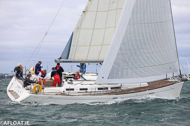 The Dufour 425 'Act Two' (Michael O'Leary, Tom Roche and David Andrews) was the winner of DBSC Cruiser 5 NS-IRC 1