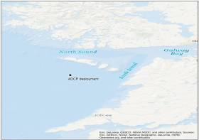 Marine Notice: Acoustic Doppler Profiler Deployed In Aran Prawn Ground