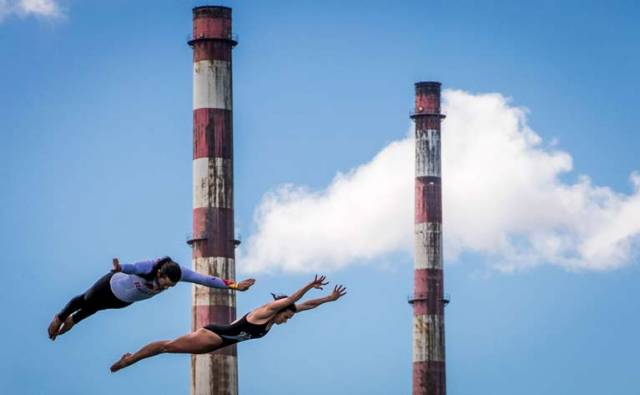 10 Days Until Red Bull Cliff Diving World Series Splashes into Dún Laoghaire Harbour