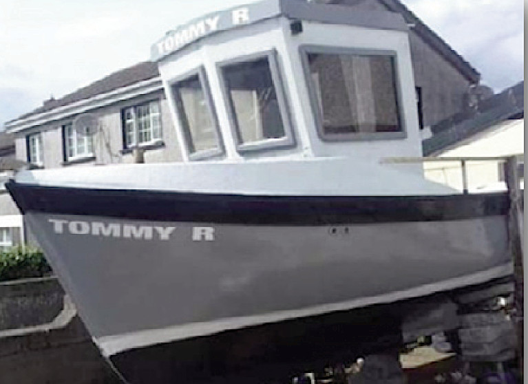 The 5.7-metre open deck GRP vessel 'Tommy R'