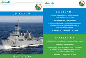 The award will be conferred on the officers and crew of the LÉ Eithne at a special ceremony