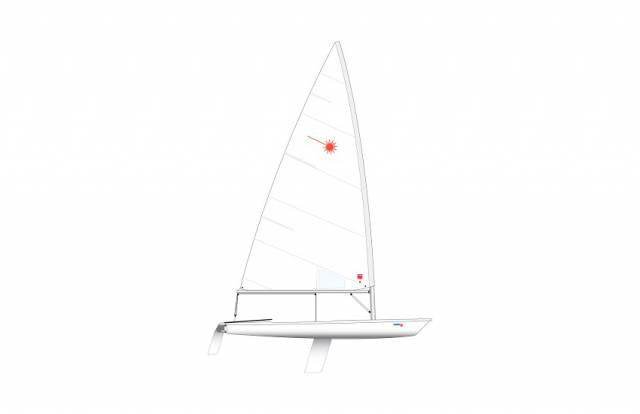 The Laser standard rig, which could soon be available for class-legal racing from a range of builders internationally in the wake of new ILCA rule changes