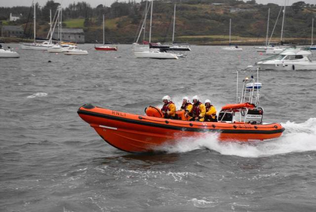 Baltimore RNLI's new Atlantic 85 inshore lifeboat pictured earlier this month