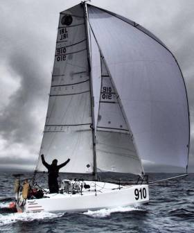 Tom Dolan and IRL 910 have been enjoying sailing like this - though often with more wind and sunshine – since coming through the Cape Verde Islands Gate at the weekend in the Mini-Transat 2017. Currently he lies third in the Production Class, with the halfway point of the open ocean stage to Martinique being passed within the next day or two.
