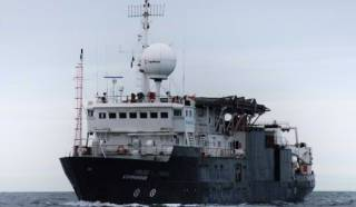 The MV Kommandor will be conducting survey operations