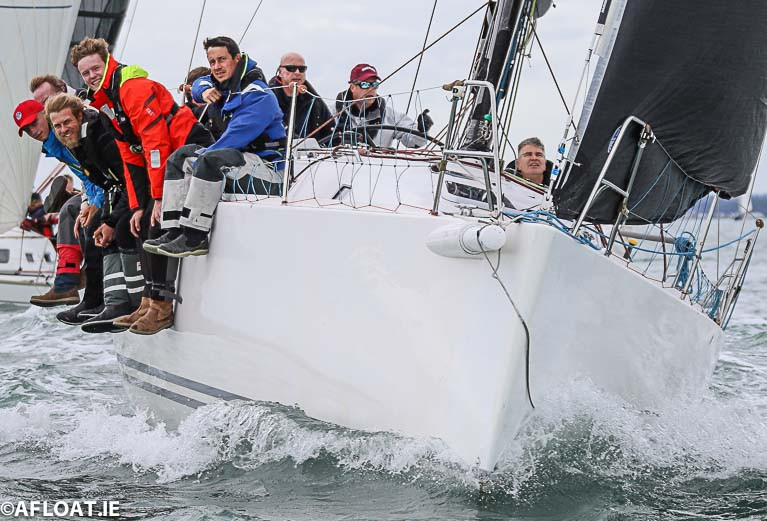 ISORA Boats Line Up for Final Race of Viking Marine Coastal Series off Dun Laoghaire Harbour