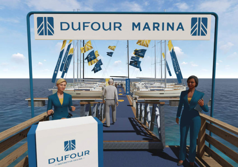 Dufour Launches 'Virtual Marina' To View Its Yachts From Comfort Of Home