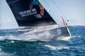 The Open 60 Malizia II, climate activist Greta Thunberg's preferred means of travel to reach New York, will have two Irish in the crew of five for the up-coming Transatlantic record attempt on the return voyage