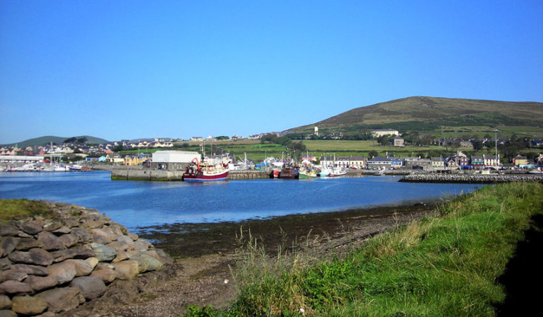 Dingle Harbour in Co Kerry