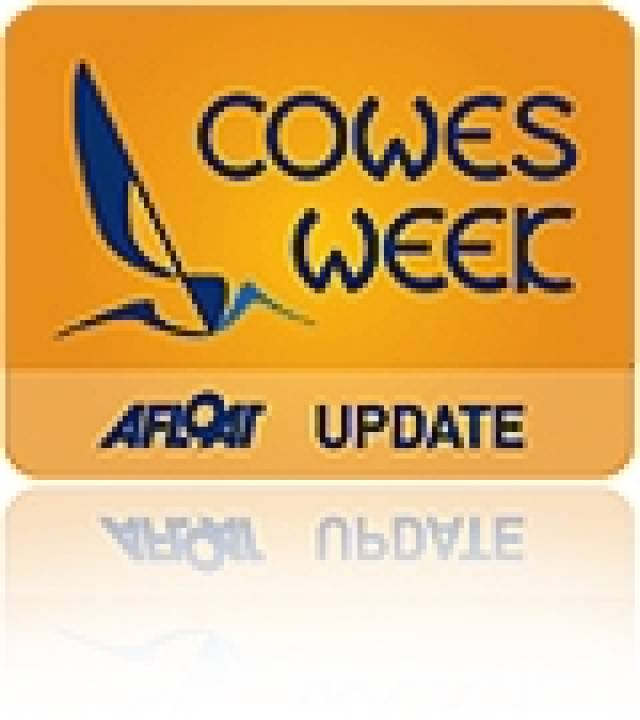Cowes Week Day Three & Strong Winds for Princess Royal Visit