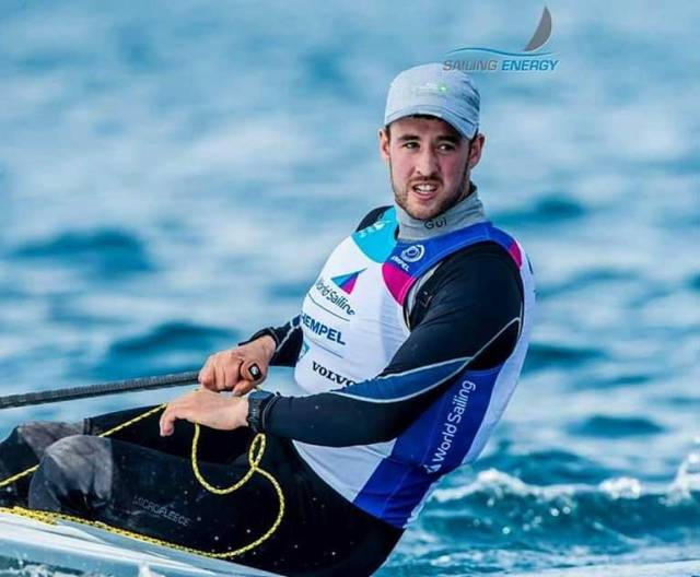 Finn Lynch's Top Form Continues at World Sailing Cup in Genoa