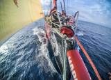 On board MAPFRE during Leg Zero's fourth and final stage from Saint-Malo to Lisbon