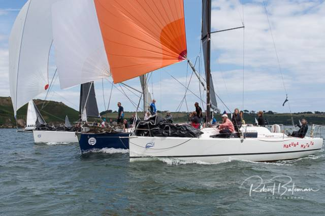 Tight racing for the in–harbour race at Cork Week. Scroll down for photo gallery