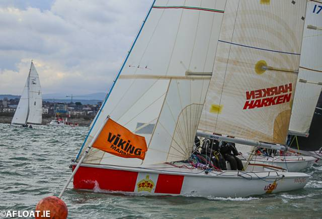 The 1720 Wolfe is second overall in the Spring Chicken Series with one race left to sail
