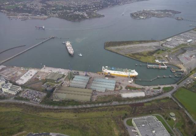 Massive investment have been called at the deepwater port facility of Ringaskiddy in lower Cork Harbour