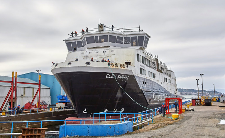 Scottish Minister Blames 'Contractor Failure' for Botched Pair of Ferguson Ferries Order