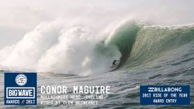 Two Irish Surfers Up For 2017 Big Wave Prize