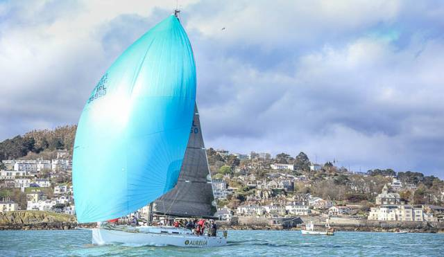 J122 Aurelia was victorious in Race Three of ISORA's Dun Laoghaire to Dun Laoghaire Race