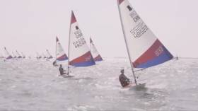 Action from the 2019 Topper Worlds in Medemblik