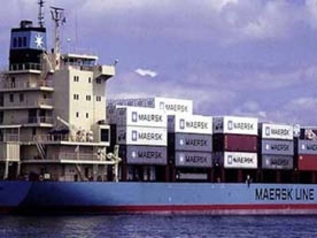 Maesrk's subsidiary Seago Line began a new UK-Ireland-Spain service with a first call to Dublin Port today