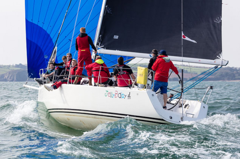 Brian Jones' Jelly Baby is expected to compete in next weekend's first race of the RCYC Autumn Series in Cork Harbour
