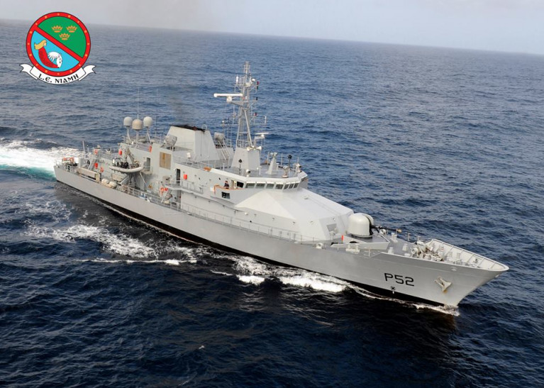 LÉ Niamh was to go on patrol last Monday but was forced to cancel when a communications specialist earmarked for the four-week patrol was unable to join the crew due to illness.
