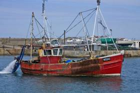 Fishing boats around the coast are advised of dredging works in Rossaveal till January
