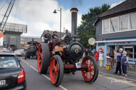The steam engines were participating in a three-day West Cork road run in aid of the RNLI. Scroll down for gallery of images