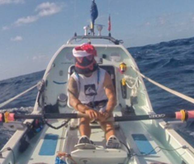 Atlantic Rower Hennigan Defies Winds to Hold Third