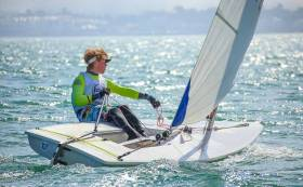Chris Bateman tops the Laser Radial national rankings for 2018