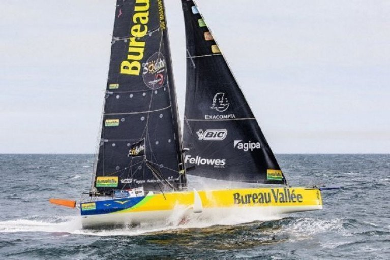 Louis Burton Seizes Vendee Globe Race lead with 900 Miles To Finish