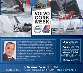 Volvo Cork Week 2018 will offer sailors racing options in a brand new format as revealed in today's Notice of Race published by RCYC. Download the full NOR below