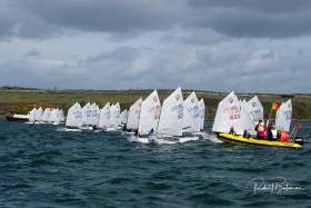 Optimist racing in Cork Harbour. Scroll down for photo gallery