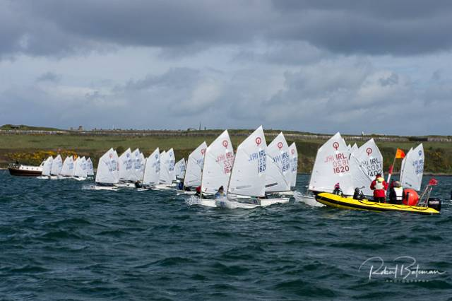 Optimists Race in Shadow of Storm Hannah & James Dwyer Matthews Continues to Lead