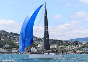 Chimaera (Andrew Craig) was third in the DBSC J109 race on Dublin Bay