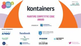 Kontainers won in the category 'Maritime Services Company of the Year' at the annual Irish Exporters Association's (IEA) Export Industry Awards.