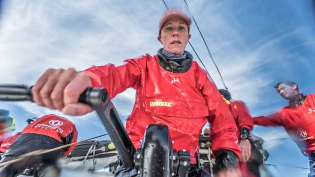 Carolijn Brouwer joins Dongfeng Race Team with fellow Olympic sailor Marie Riou