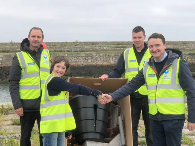 Young anti-litter campaigner Flossie Donnelly's hard work has paid off