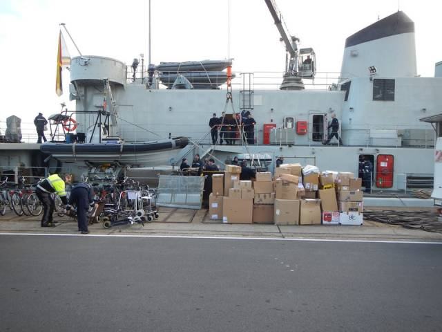 Belgian Navy Caller to Dublin Follows Multi-Purpose Mission to West Africa
