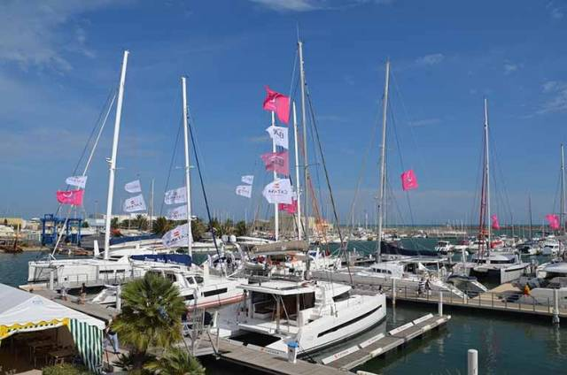 A pre-owned Multihull boat show takes place in Canet-en-Roussillon in the South of France on October 6