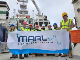 iMARL's 'deep ocean listening' technology is an integral part the SEA-SEIS project currently on a mission to deploy seismometers in Ireland's offshore waters