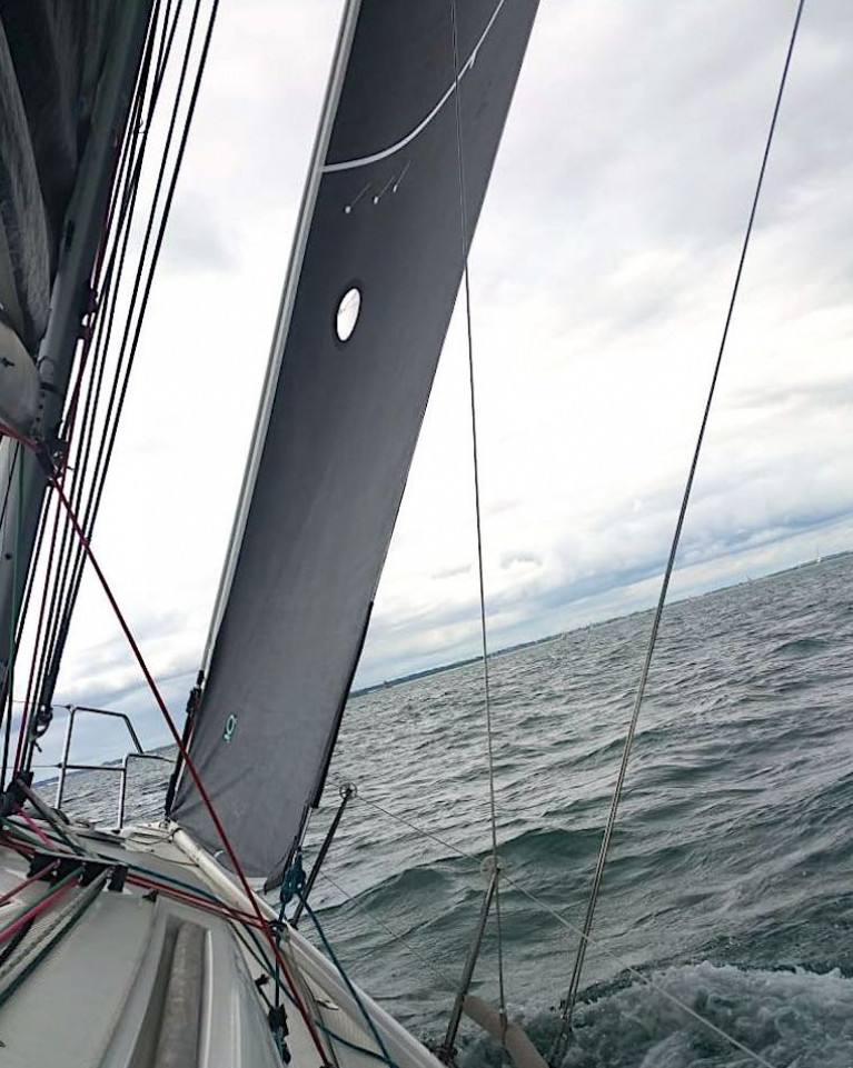 A First 35 on Dublin Bay with new Quantum Fusion J3