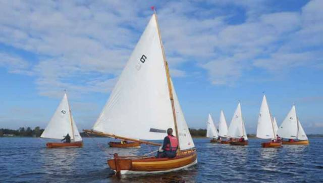Water Wags on Lough Boderg. There was a strong turnout of 22 for Wednesday's race in Dun Laoghaire Harbour