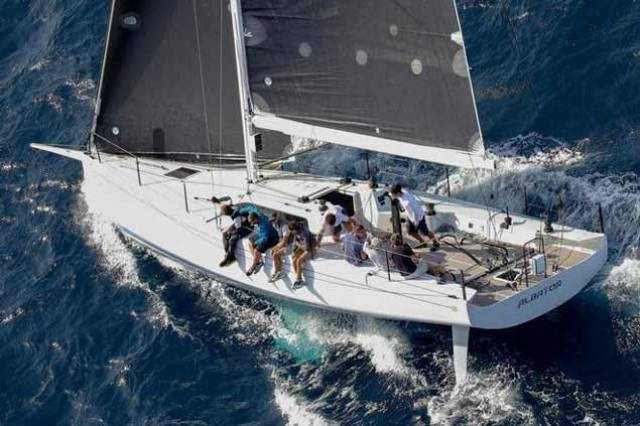 The new NMD 43 Albator from France looks to have the Class 1 win in the bag in the current RORC Caribbean 600, but boats of Irish interest have been battling for the second and third slots