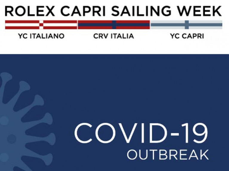 Rolex Capri Sailing Week Cancelled as Italian Sailing Federation Suspends All events