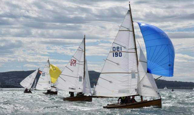 The Mermaid championship concluded in a blow in Howth Yacht Club at the weekend