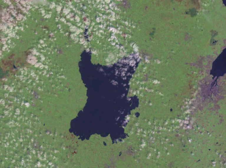 Satellite image of Lough Neagh